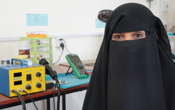 Economic empowerment through vocational training in Yemen