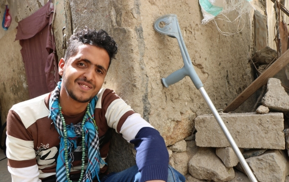 One size doesn't fit all: providing aid for people with disabilities in war-torn Yemen